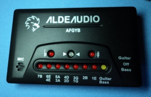 Imagen 1 de 1 de Afinador Digital Alde Afgyb P/instrumentos 2702171900599