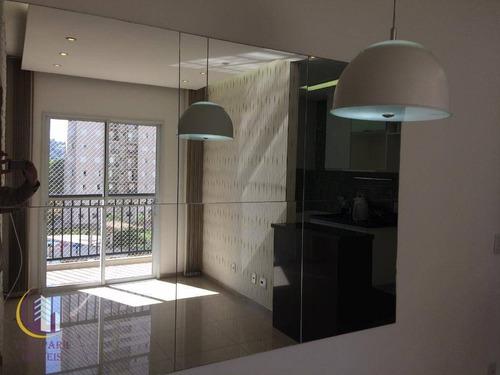Apartamento Com 2 Dormitórios À Venda, 57 M² Por R$ 370.000,00 - Umuarama - Osasco/sp - Ap0311