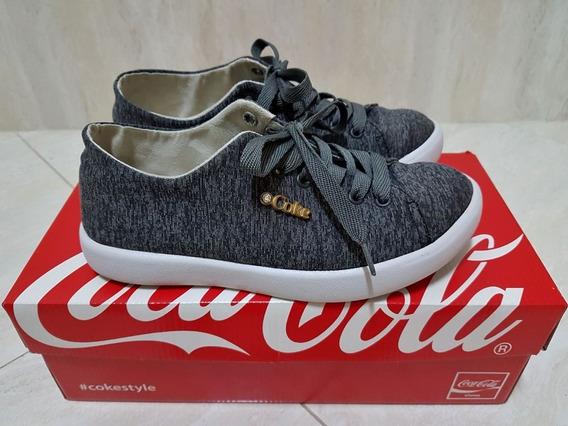 Tênis Coca-cola Luxor Mescla Grafite