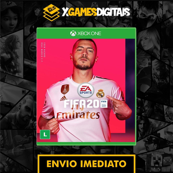 Fifa 20 Xbox One Mídia Digital + Brinde