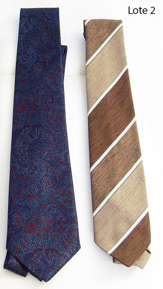 2 Corbatas De Moda (lote 2b)