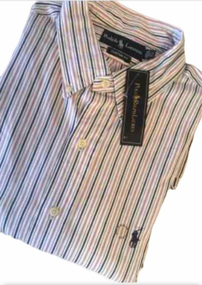 Camisa Casual Polo Ralph Laurent Xl Custom Fit Envío Gr