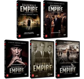 Série Boardwalk Empire - O Império Do Contrabando - Completa