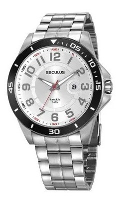 Relógio Seculus Original Long Life 2 Anos De Garantia