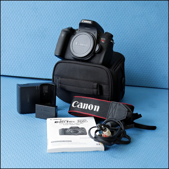 Canon T6s Perfeita (corpo) Não É T5i, Nem T6i