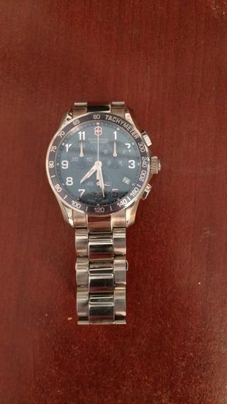 Relógio Chrono Classic Victorinox, Vidro De Safira