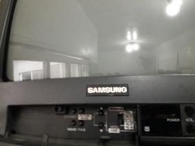 Tv Antiga Samsung De 15 Polegadas Usada