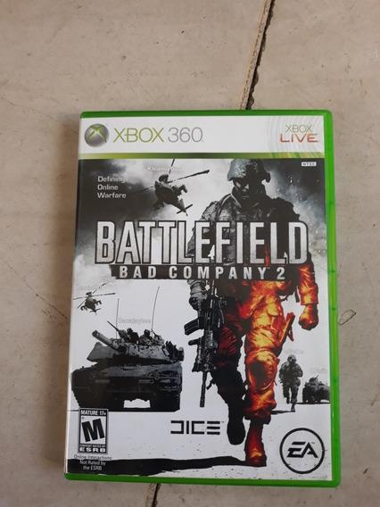 Jogo Battlefield Bad Company 2 Xbox 360 Original Completo