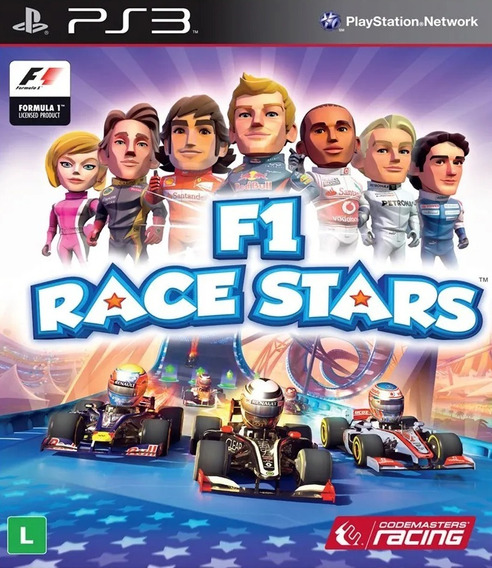 F1 Race Stars - Psn Ps3 Pronta Entrega