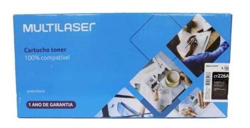 Cartucho Toner Compatível P/ Hp Multilaser Ct226a