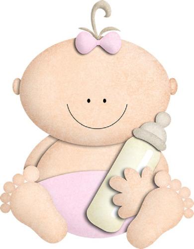 Kit Imprimible Baby Shower Girl Niña 100% Editable