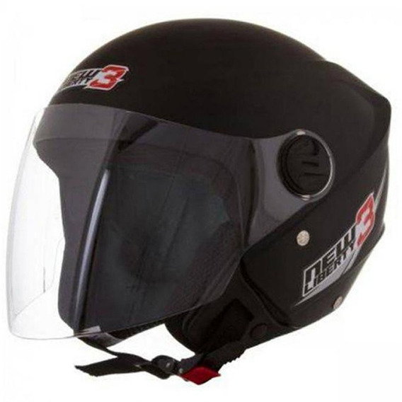Capacete New Liberty Three Preto 58