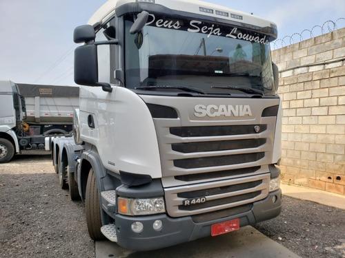 Scania 440 8x2 Ano 2015/2015 Impecável Km 185.000 Apenas