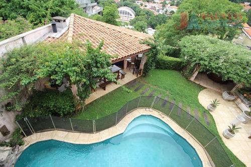 Imagem 1 de 30 de Casa À Venda, 510 M² Por R$ 4.800.000,00 - Pacaembu - São Paulo/sp - Ca0197