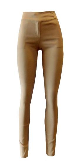 Pantalón De Dama Entubado Tipo Skinny Camel