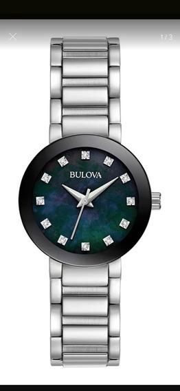 Relógio Feminino Bulova Futuro Aço Prata