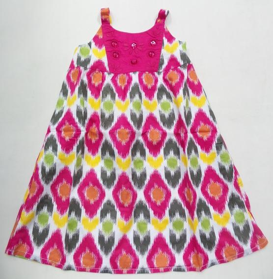 Vestido Infantil Gymboree - Estampa Batik