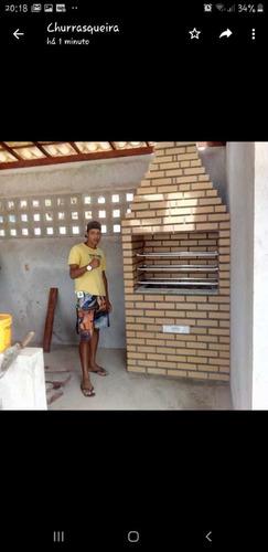 Imagem 1 de 5 de Churrasqueira Forno Inglu Forno Mineiro E Fogão A Lenha Em T