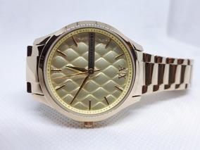 Relógio Original Armani Exchange Ax Dourado Ouro