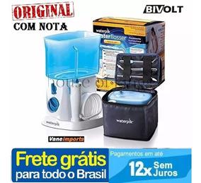 Irrigador Bucal Waterpik Wp 300 Bivolt Uso Em Viagens C/nota