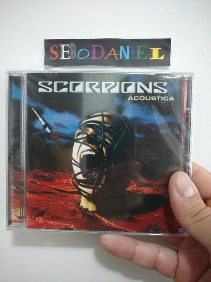 Cd Scorpions Acoustica Lisboa 2001 Novo Lacrado Original