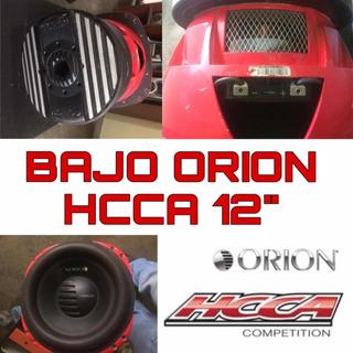 Bajo Orion Hcca 12 5000 Watt 2 Ohm Competencia