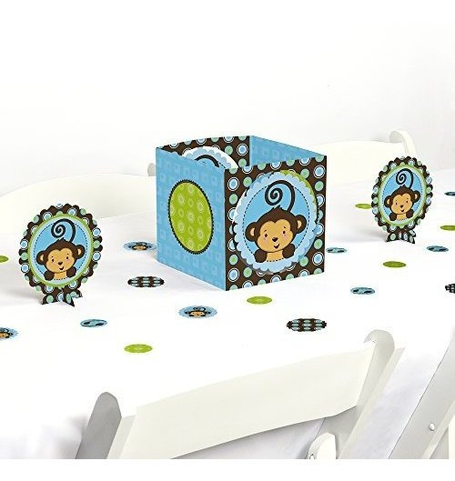 Mono Niã±o Baby Shower O Fiesta De Cumpleaã±os Centro Y