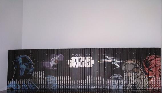Coleção Gibi Hqs Star Wars - Planeta Deagostini - Completa