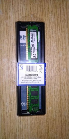 Memoria Kingston Kvr16n11/4 1600mhz Ddr3