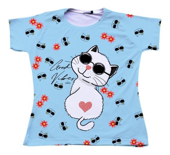 Camiseta T-shirt Sulamita Gato Ref 31