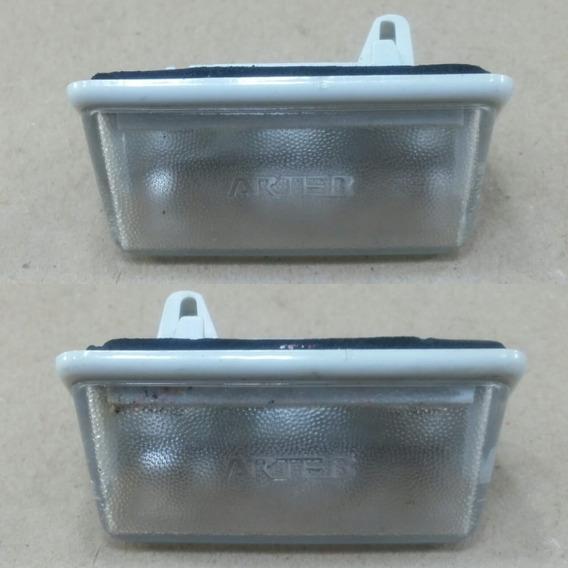 Par Lanterna Placa Toyota Corolla 03/08 Fielder 04 Semi Novo