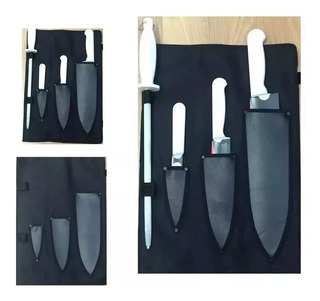 Cuchillos Tramontina Chef-chaira De 10 Pulgadas+funda Doblar