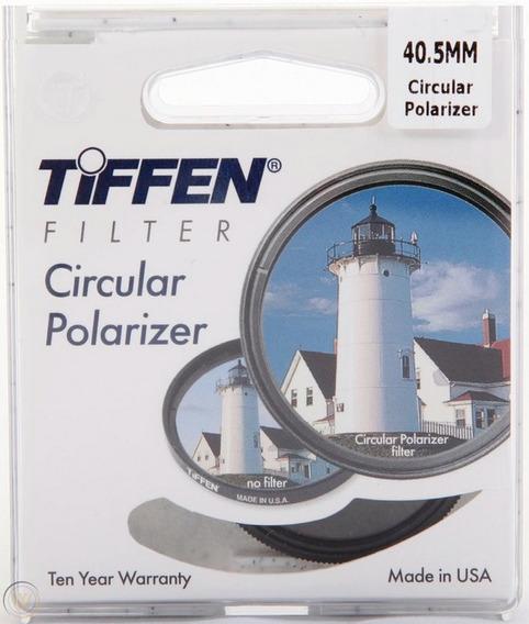 Filtro Polar Circular Plc 40.5mm Tiffen Made In Usa + Nf.e §