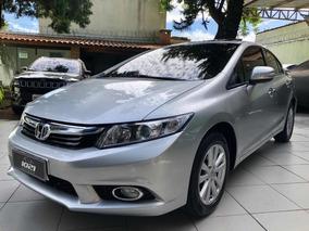 Honda Civic 1.8 Exs Flex Aut. 4p 2012/2013