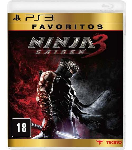 Jogo Ps3 Ninja Gaiden 3 Midia Fisica Novo Lacrado!