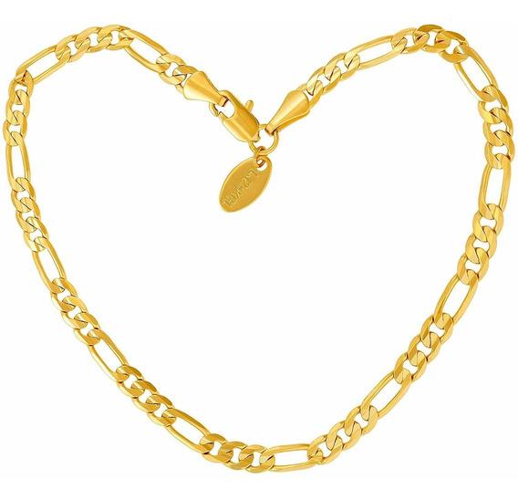 Lifetime Jewelry - Tobillera De Oro Para Mujer, Hombre Y