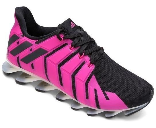 Tênis adidas Springblade Pro Rosa Pink Preto - Liquidação