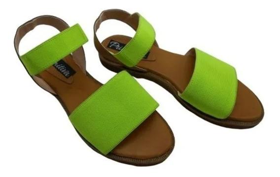 Sandalias Baja Liviana Zapatos Mujer Moda Verano 149 F