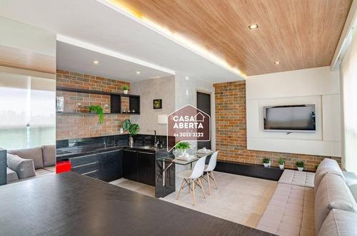 Imagem 1 de 8 de Flat Com 1 Dormitório À Venda, 48 M² Por R$ 480.480,00 - Ponta Negra - Natal/rn - Fl0008