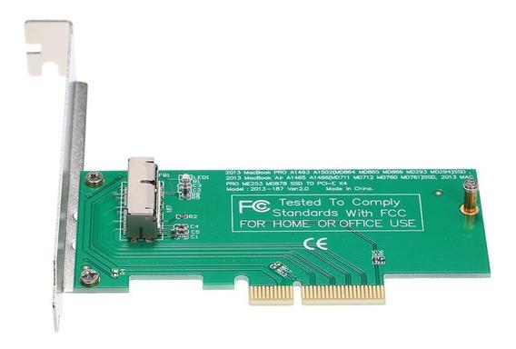 Placa De Adaptador Pci-e Ssd Para Macbook Air E Pro Retina 2