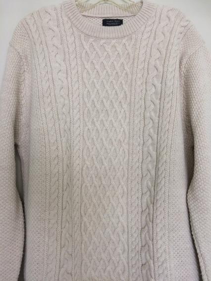 Suéter Masculino Zara Man - Tamanho M