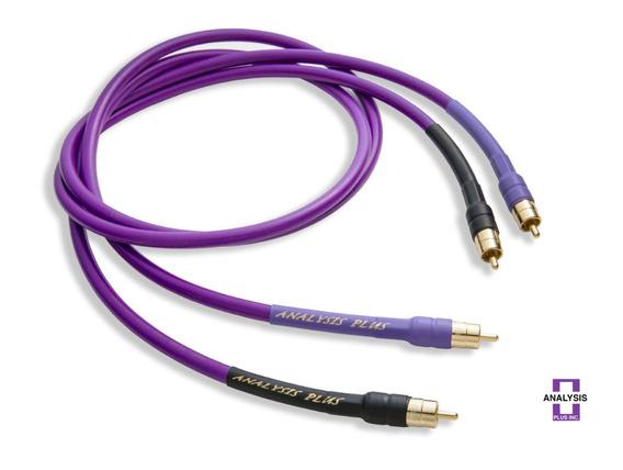 Length 1.0 Meter Analysis Plus Black Digital Cable RCA-RCA