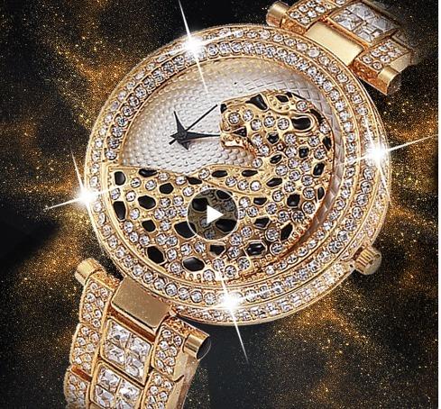 Relógio Feminino Dourado Prova D