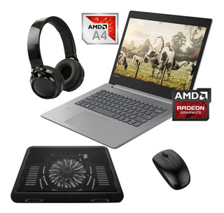 Laptop Lenovo Ideapad 330-14ast Amd A4 Ssd 240gb 4gb Ram-kit