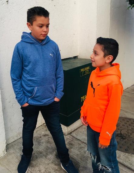 Sudaderas Puma 100% Originales Para Niños