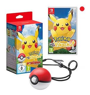 Pokemon Lets Go Pikachu + Pokeball Plus Bundle Nuevo Sellado