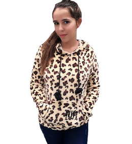 Blusa De Frio Com Capuz Pelinho Felpuda Oncinha Girafinha