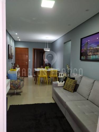 Imagem 1 de 15 de Apartamento Com 03 Dormitórios, Sendo 01 Suíte, Vila Tupi - Cf68448