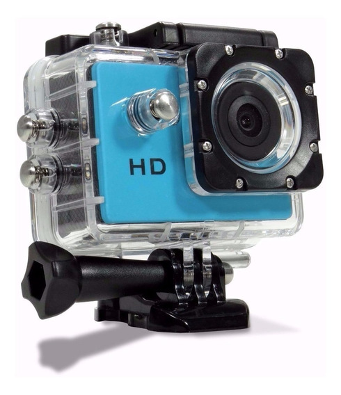 Camera Filmadora Prova De Água Capacete Bicicleta Moto Espiã
