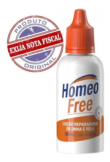 Loção Reparadora Unha Pele C/ Micoses Frieira Homeofree 30ml